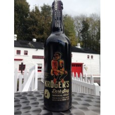 Krogers Dark Stag Imperial Stout - aged in ex Chateau Neuf du Pape Edradour Casks