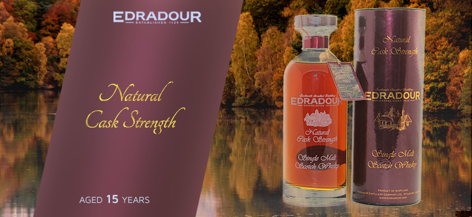 Cask Strength Edradour 15 Year Old